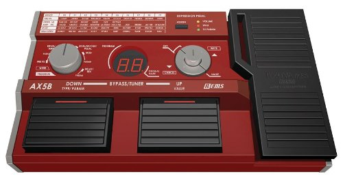 [DISCONTINUED] Korg AX5B Compact Modeling Bass Effects Pedal with 58 Types of REMS Effects