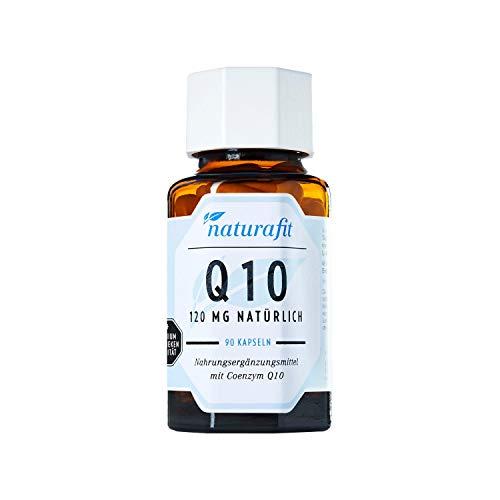 naturafit Q10 120 mg Kapseln, 90 St. Kapseln
