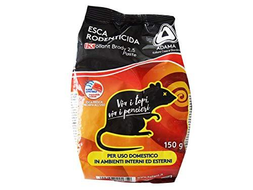 Kollant 9756805 Esca Topicida, Pasta, Nero, 150 grammi