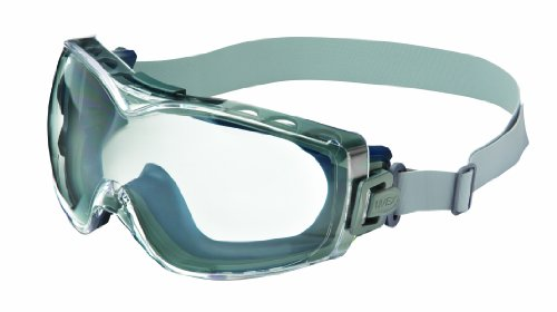 Uvex Stealth OTG Safety Goggles with Anti-Fog/Anti-Scratch Coating (S3970D)