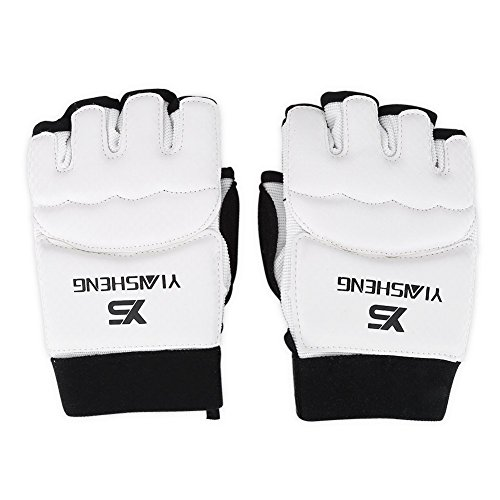 Guanti da allenamento bambini adulti mezze dita guanti boxe punch guanti da palestra e del piede per...