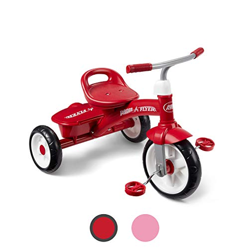 Radio Flyer Red Rider Trike, outdoor toddler tricycle, ages 2  -5 (Amazon Exclusive)