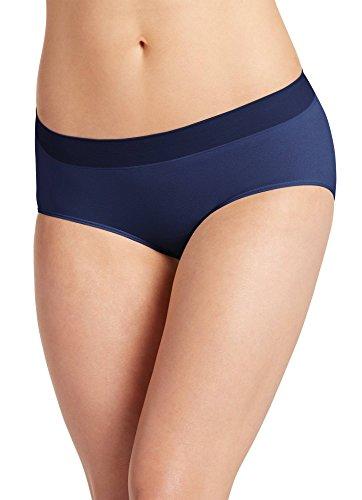 Jockey Women's Underwear Modern Micro Seamfree Hipster, just Past Midnight, 7
