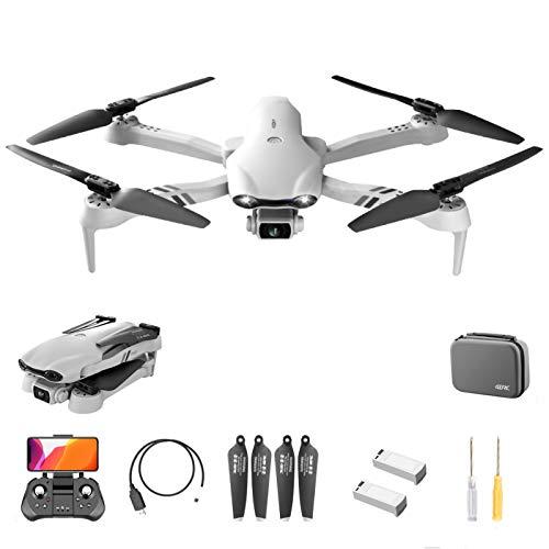 LTDD Droni GPS con Fotocamera per Adulti Quadricottero Doppia Fotocamera F10 6K HD Drone con Telecomando GPS WiFi per Esterno