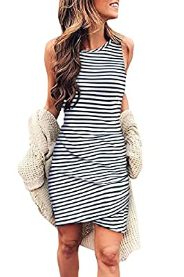 You Will Never Regret To Get One - The Womens Summer Dresses Adopts High Quality Fabric Blend Outer Fabric, Soft And Breathable£¬Will Offer You First-Class Comfort; With The Same Color Lining, Makes Sure Will Not See Through; The Comfy And Stretchy M...