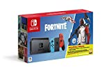 "- Nintendo Switch Rouge/Bleu Néon 32Go ""Limited Fortnite Pack"" - inclus Fortnite Pack + 1000vbucks"