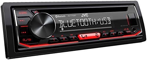 JVC KD-T702BT CD-Autoradio mit Bluetooth Freisprecheinrichtung ( Hochleistungstuner, Soundprozessor,...