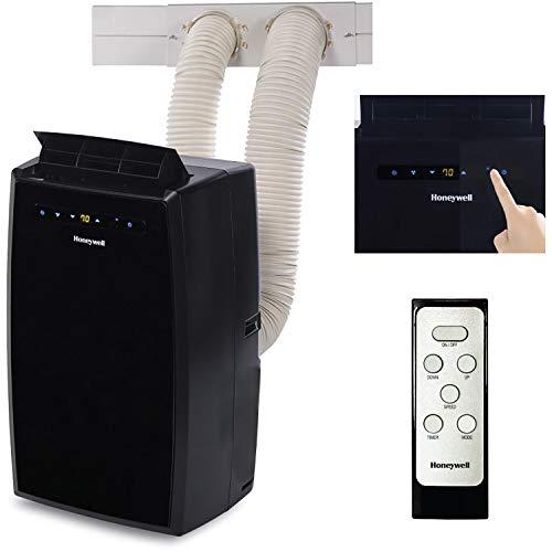 Honeywell 14,000 BTU Air Portable Conditioner with Dual Hose, 14000, Black