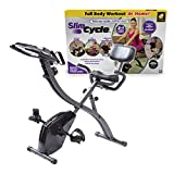 As Seen On TV Slim Cycle Stationary Bike by Bulbhead, Most Comfortable Exercise Machine, Thick, Extra-Wide...