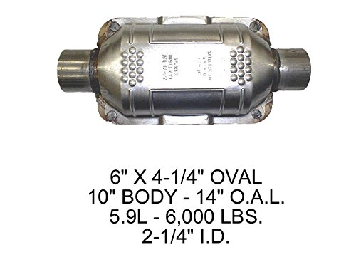 Eastern 70317 Catalytic Converter (Non-CARB Compliant)