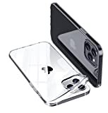 ONES 全透明 iPhone 11 Pro ケース 耐衝撃 超軍用規格 〔持ちやすい、滑り止め、すり傷防止〕……