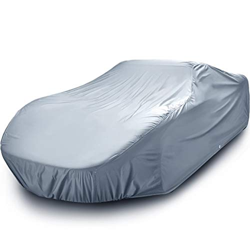 iCarCover {7-Year Full Warranty} All Weather Waterproof Snow Rain UV Sun Dust Protection Automobile Outdoor Coupe Sedan Hatchback Wagon Custom-Fit Full Body Auto Vehicle Car Cover - Cars Up to 185""