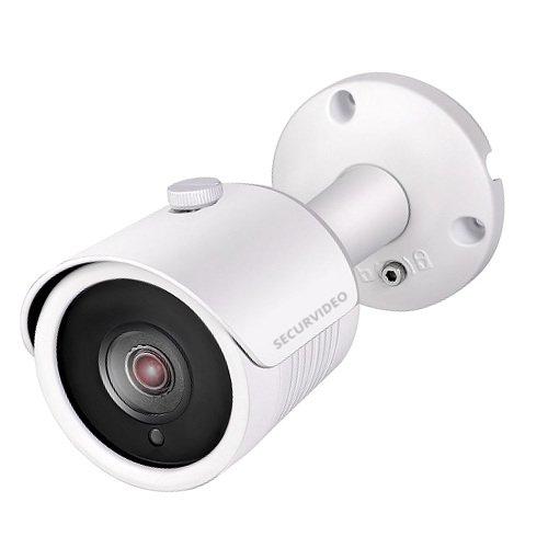 Telecamera Mini Bullet Videosorveglianza Ibrida 4 in 1 AHD CVI TVI cvbs Cmos Visione notturna 25m IR SMT LED Joystick OSD IP66