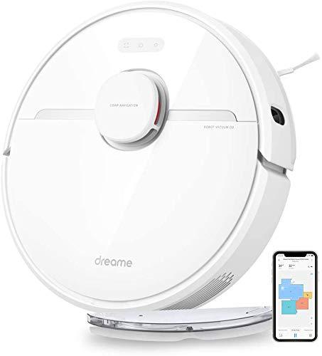Aspirateur Robot, Dreame D9 Robot Aspirateur Laveur 2 en 1, Alexa, Wi-FI, avec Navigation...
