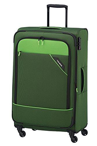 Travelite Derby Rollkoffer, klassisch, robuster und leichter Weichgepäck Trolley mit 4 Rollen in 4 Farben
