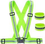 ZWOOS Gilet de Sécurité + Bracelets de Sécurité...