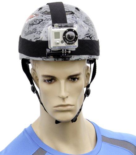 Arkon GPCAMHD strappo regolabile da elmetto per GoPro Go Pro HERO, Sony Action Cam, Sony POV HD Flash Memory Camcorder, JVC ADIXXION, JVC ADDIXXION Cam 2, ContourROAM2