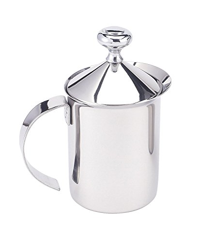 HIC Milk Creamer Frother Cappuccino Coffee Foam Pitcher with...