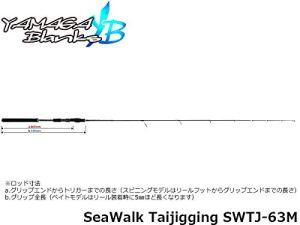 YAMAGA Blanks(ヤマガブランクス) SeaWalk Taijigging(シーウォーク タイジギング) SWTJ-63M