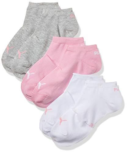 PUMA Sneaker Plain 3p Calze Sportive, Prism Pink, 35/38 (Pacco da 3) Unisex Adulto