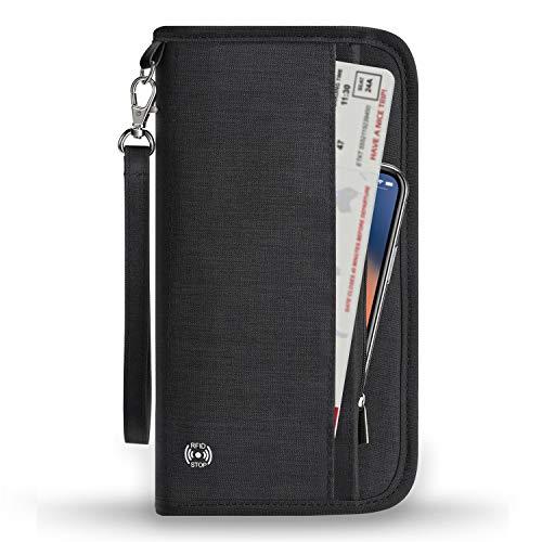 Vemingo Travel Wallet | Met RFID-blokkeermateriaal | Beschermt tegen diefstal | Voor al je reisbenodigheden