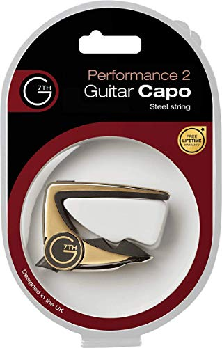 G7th Performance 2 Silver Capo 6-String, Silver (G7C-P2SILV)