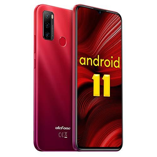 Android 11 Teléfono Móvil Libres, Ulefone Note 10 4G Octa-Core...