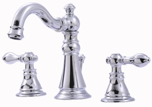 Ultra UF55110 Two-Handle Chrome Lavatory Faucet with Pop-Up Drain