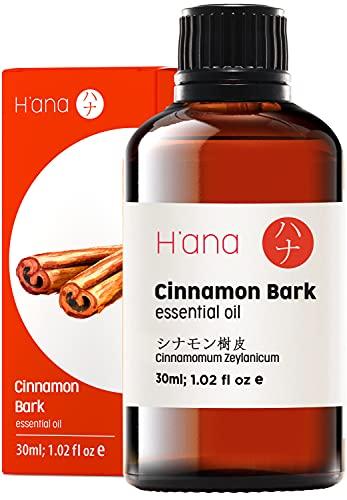 Hana Cinnamon Bark Essential Oil - Boosts Energy...