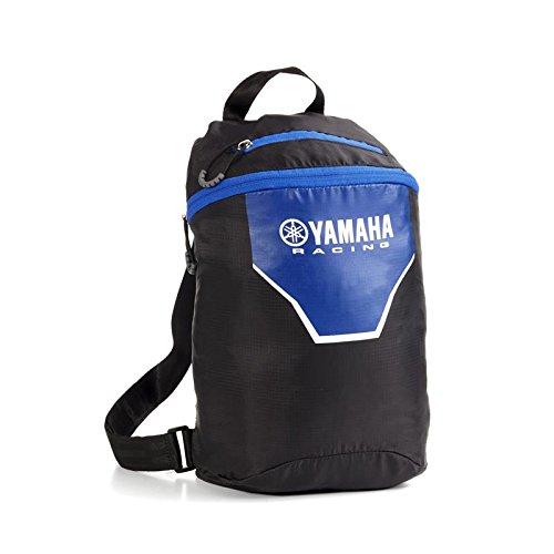 Zaino ripiegabile Yamaha Racing Nylon leggero viaggio 14 L tasca vano sella moto turismo racing...