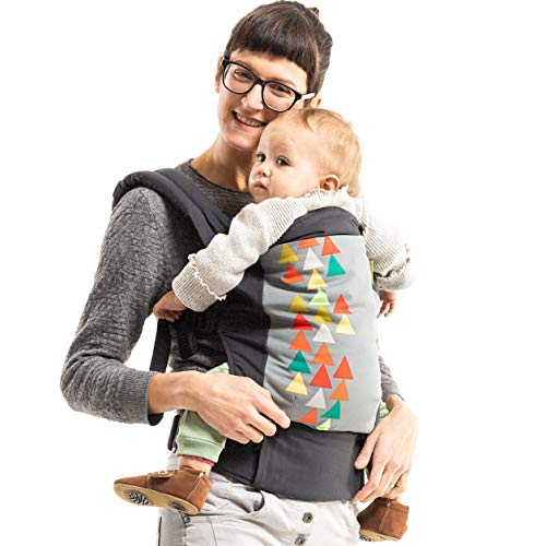 Boba Baby Carrier Classic 4Gs - Peak - Backpack or Front Pack Baby Sling for 7 lb Infants and Toddlers up to 45 pounds