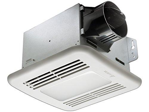 Delta Electronics (Americas) Ltd. GBR100LED Delta BreezGreenBuilder Series 100 CFM Fan/Dimmable LED Light, 13.6W, 1.5 Sones
