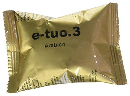 Pop Caffe' E.Tuo .3 Arabica compatibili Fior fiore, Lui l'Espresso, Mitaca MPS, Aroma vero 100 CAPSULE