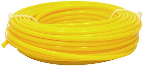 Corderie Italiane 006032229 Filo Decespugliatore, Tondo, 4 mm, 15 m, Giallo