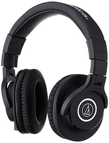 Audio Technica Pro ATH-M40X Cuffie Monitor Professionali, nero