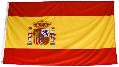esvendio Bandera de España de Tela Fuerte (1 Unidad), Bande