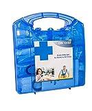 Aquí BeiDir Design - Maletín de primeros auxilios (DIN 13157, con soporte de pared, caja de vendajes según ASR, para oficina y trabajo, incluye asa de transporte)