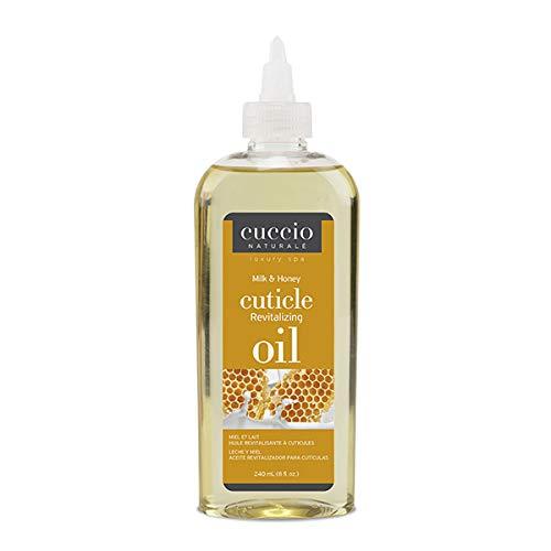 Cuccio Naturalé Milk & Honey Cuticle Revitalizing Oil - Lightweight Super-Penetrating - Nourish, Soothe & Moisturize - Paraben/Cruelty Free, w/Natural Ingredients - 8 oz (Milk & Honey)