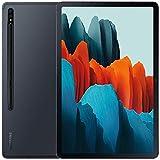 Samsung Galaxy Tab S7 w/Low Latency S Pen (256GB, 8GB RAM) 11.0' 120Hz Display, Snapdragon 865+, 8000mAh Battery, Wi-Fi Performance Tablet SM-T870 (64GB SD Bundle, Mystic Black)
