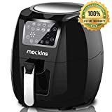 mockins Extra Large Air Fryer 5.8 Qt with Advanced LCD Touch Screen, 7 Built-In Presets and Rapid Air Circulation Technology and Includes Free Air Fryer Cookbook | Must Have Kitchen Gadgets