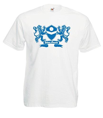 Settantallora - T-Shirt Maglietta J1764 Stemma Ultras Brescia Taglia L