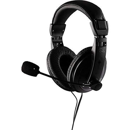 Headset Profissional, Maxprint, Microfones e fones de ouvido