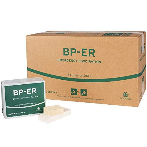BP ER Elite Emergency Food 24 x 500 Gramm Einheit Langzeitahrung - Produkt BPA-Frei und hermetisch versiegelt (Charge 2020 und Zertifikat vom Händler Lebenskraft)