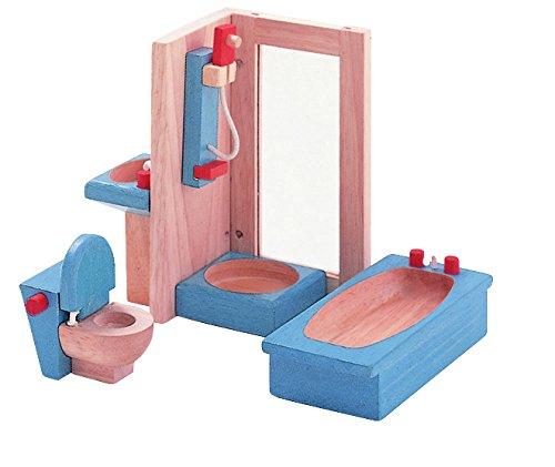 PLAN TOYS Dollhouse Furniture - Neo Bathroom