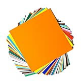 """Permanent Adhesive Backed Vinyl Sheets by EZ Craft USA - 12"""" x 12""""..."""