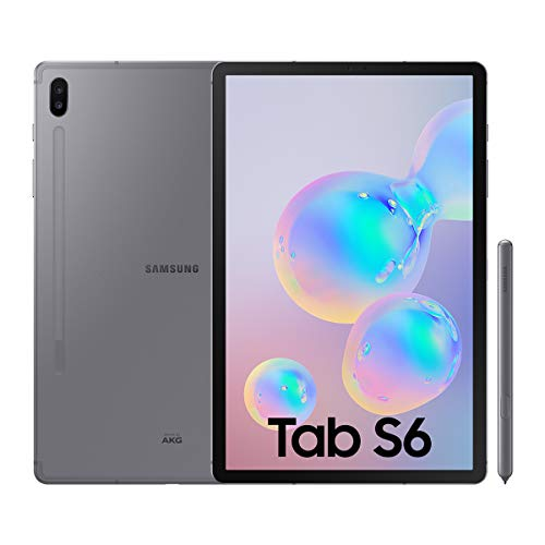 "Samsung Galaxy Tab S6 Tablet de 10.5"" (128 GB, S Pen Incluido, Pantalla sAMOLED, WiFi) Gris"