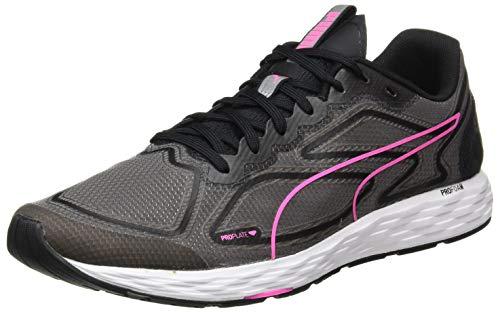 PUMA Speed 300 Racer 2 Wn's, Zapatillas para Correr de Carretera Mujer, Negro Black/Luminous Pink, 38 EU