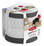 CURVER | Kit Pet Food nomade, Blanc/Gris, Pet dry food container,...