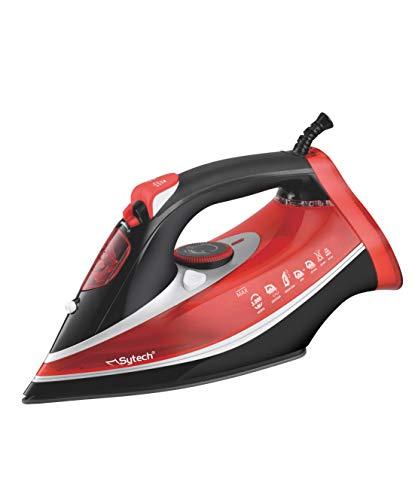 Sytech Ferro da Stiro a Vapore Professionale 3000 W, Rosso, 13,5 x 32,5 x 15,6 cm