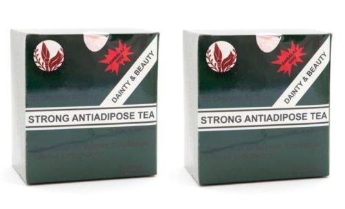 2 x Té fuerte contra adiposo (STRONG ANTI - ADIPOSE TEA) ;